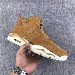 Men Basketball Shoe Air Jordan 6 Golden Harvest AAAA 317