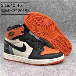 Men Basketball Shoe Air Jordan 1 Clssneakers AAAA 357