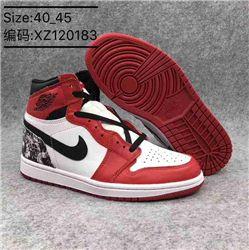 Men Basketball Shoe Air Jordan 1 Clssneakers AAAA 358