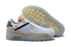 Men OFF WHITE x NikeLab Air Max 90 AAA 221