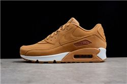 Men Nike Air Max 90 Wheat Running Shoe AAAA 306