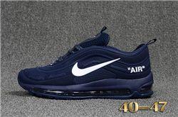 Men Nike Air Max 97 Running Shoes KPU 244