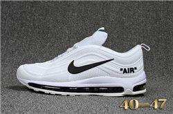Men Nike Air Max 97 Running Shoes KPU 249