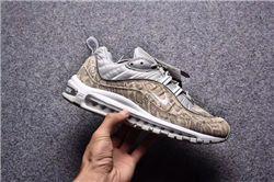 Men Supreme x NikeLab Air Max 98 Running Shoe AAAA 220