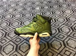 Men Basketball Shoe Air Jordan 6 Pinnacle Flight Jacket AAA 319