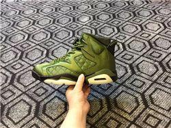 Men Basketball Shoe Air Jordan 6 Pinnacle Flight Jacket AAA 319