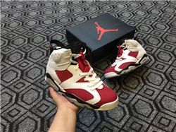 Women Air Jordan 6 Retro Sneakers AAA 257