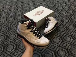 Men Basketball Shoe Air Jordan II Retro AAAAA 218