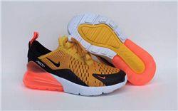 Kids Nike Air Max 270 Running Shoe 249