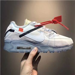 Men OFF WHITE x NikeLab Air Max 90 AAAA 259