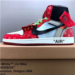 Men Off White x Air Jordan 1 AAAAA 260
