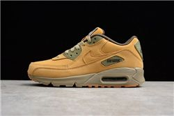 Men Nike Air Max 90 Wheat Running Shoe AAAA 3...