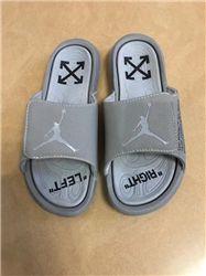 Women Off White x Jordan Hydro 6 Sandals 225