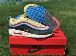 Men Sean Wotherspoon Nike Air Max 97 Hybrid AAAA 288