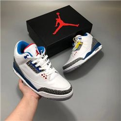 Men Basketball Shoes Air Jordan III Retro Nike Logo AAAA 258