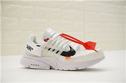 Men Off White x Nike Air Presto Running Shoe AAA 300