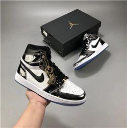 Men Air Jordan 1 Retro Basketball Shoe AAAA 438