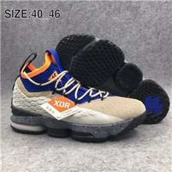 Men Nike LeBron 15 Basketball Shoes 652