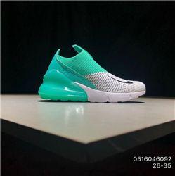 Kids Nike Air Max 270 Running Shoe 272
