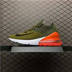 Men Nike Air Max 270 Weave Running Shoe AAAA 259