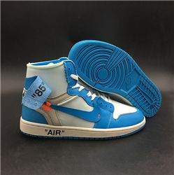 Men Off White x Air Jordan 1 AAAAAA 247