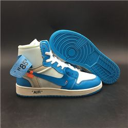 Women Off-White x Air Jordan 1 AAAAAA 268