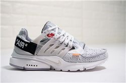 Men Off White x Nike Air Presto Running Shoe ...