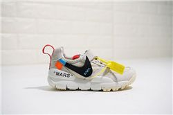 Kids Off White x Tom Sachs x Nike Craft Mars ...