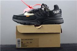 Men Off White x Nike Air Presto Running Shoe AAAA 320