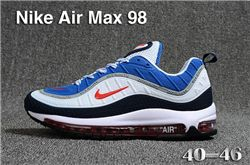 Men Nike Air Max 98 Running Shoes KPU 357