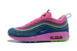 Women Sean Wotherspoon Nike Air Max 97 Hybrid AAA 272