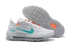 Men Off White x Air Max 97 Running Shoes AAA 329