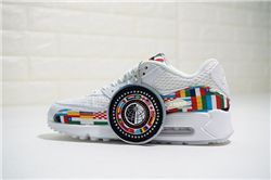 Women Nike Air Max 90 NIC QS International Flag AAA 290
