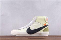 Women Off White x Nike Blazer Mid AAAA 303