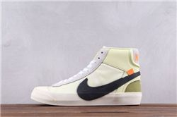 Men Off White x Nike Blazer Mid AAAA 351