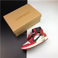 Women Off White x Air Jordan 1 AAAAA 314