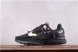 Men Off White x Nike Air Presto Running Shoe AAA 364