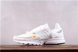 Men Off White x Nike Air Presto Running Shoe AAA 365