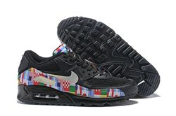 Men Nike Air Max 90 NIC QS International Flag...
