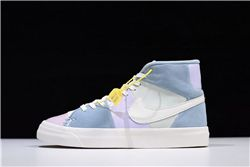 Women Nike Blazer Royal Easter QS Sneakers AA...