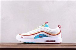 Women Sean Wotherspoon Nike Air Max 97 Hybrid AAAA 289