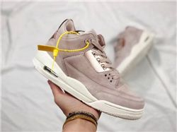 Women Air Jordan 3 Retro GS Particle Beige AAAA 226