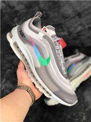 Women Off White x Nike Air Max 97 Sneaker AAAA 326