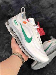 Women Off White x Nike Air Max 97 Sneaker AAAA 327
