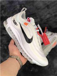 Women Off White x Nike Air Max 97 Sneaker AAAA 328