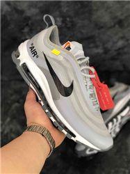 Women Off White x Nike Air Max 97 Sneaker AAAA 329