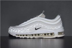 Men Air Max 97 Reflective Logo Running Shoes ...