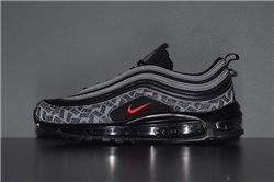 Men Air Max 97 Reflective Logo Running Shoes AAAA 362