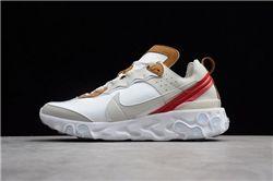 Women Nike React Element 87 Sneakers AAAA 263