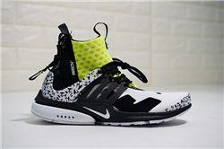 Men ACRONYM x NikeLab Air Presto Mid Running Shoes AAA 337